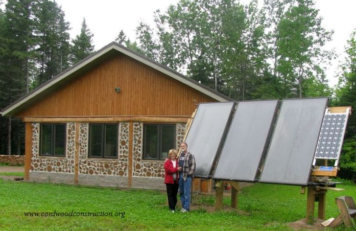 Cordwood Education Center is Off Grid