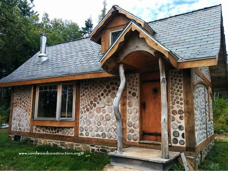Cordwood Cottage in Nova Scotia
