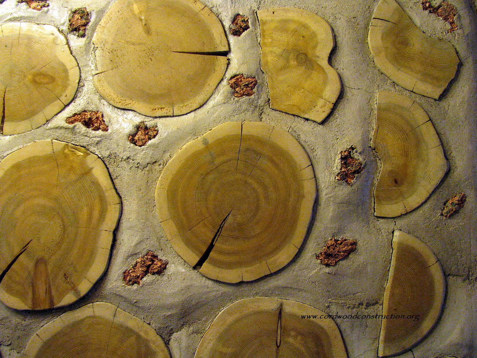 Beveridge copper agates and cordwood