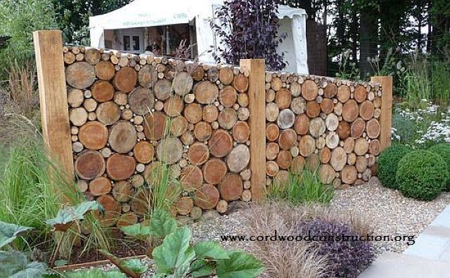 Cordwood Walls, Signs & Fences