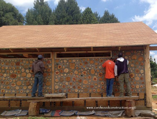 Cordwood Construction in Mexico