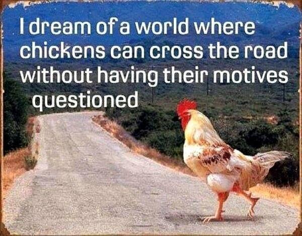 Chicken joke from YES