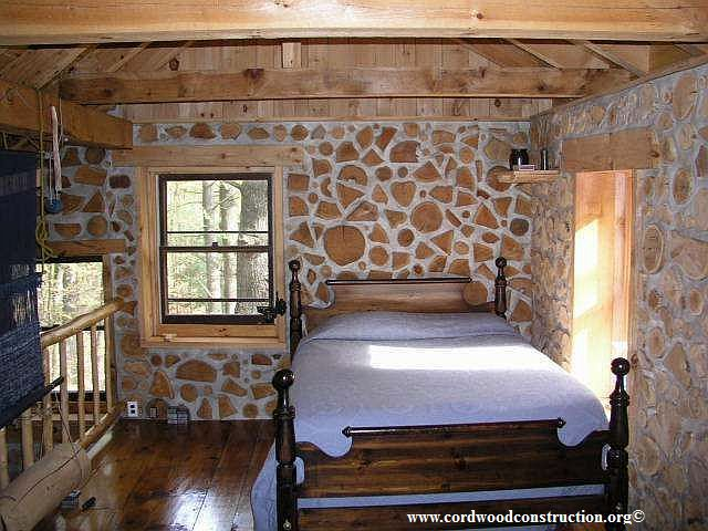 Off Grid Cordwood Cabin in the Adirondacks