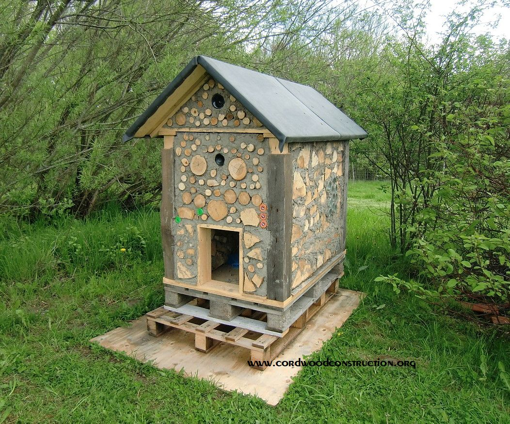 Cordwood Doghouse Olle Hagman 1 with logo