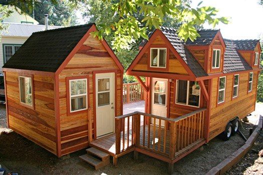 FB page of Tiny House Listings a dog house for hubby