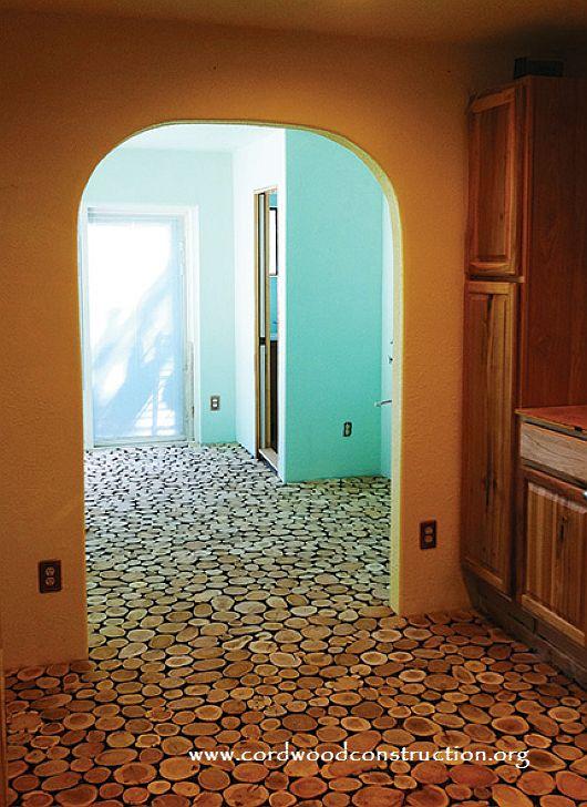 Cordwood Flooring Sunny in Sunny Arizona