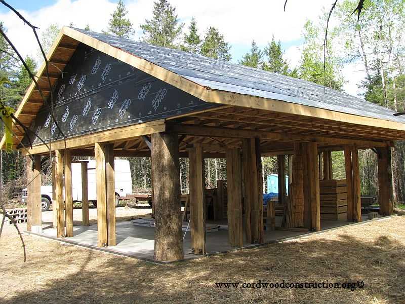 cordwood-education-center-framing