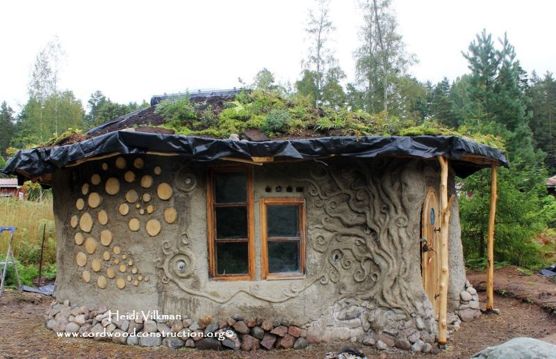 "Cordwood with Cob Mortar is ""Cobwood"""