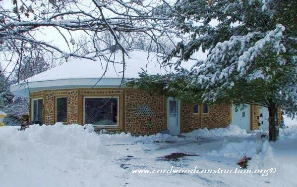 Curved Cordwood & Corners