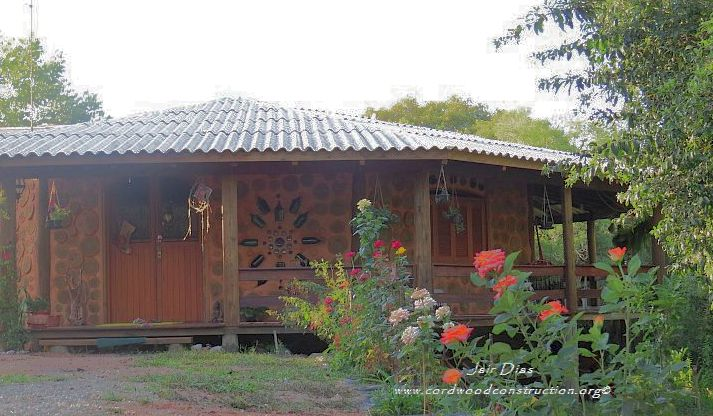 Cordwood in Brazil #2