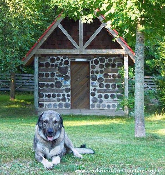 Cordwood Sweat Lodges & Dog Houses