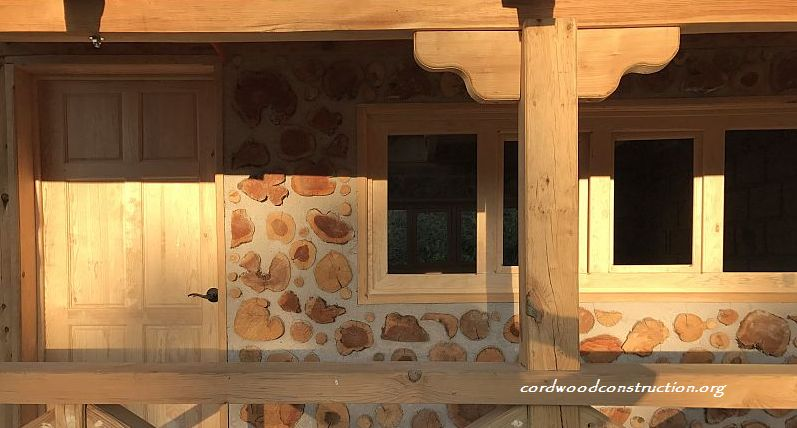 Cordwood Cottage in Tlaxcala, Mexico
