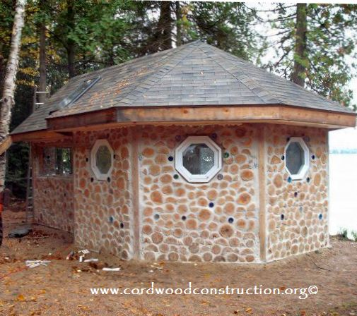 Cordwood Cabin North Bay, Ontario