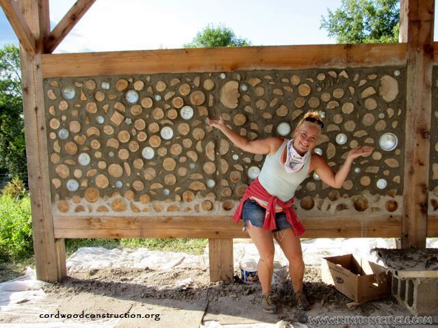 Cordwood Star Wall Celebration