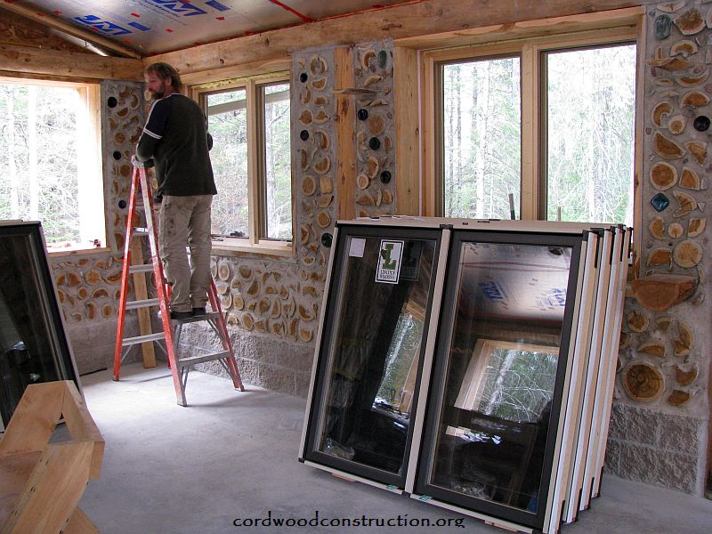 Cordwood Window Boxes: How to build