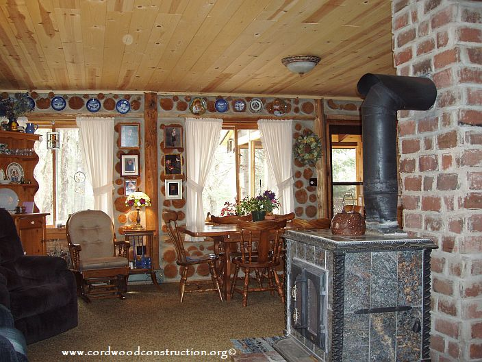 Cordwood Home of 40 years