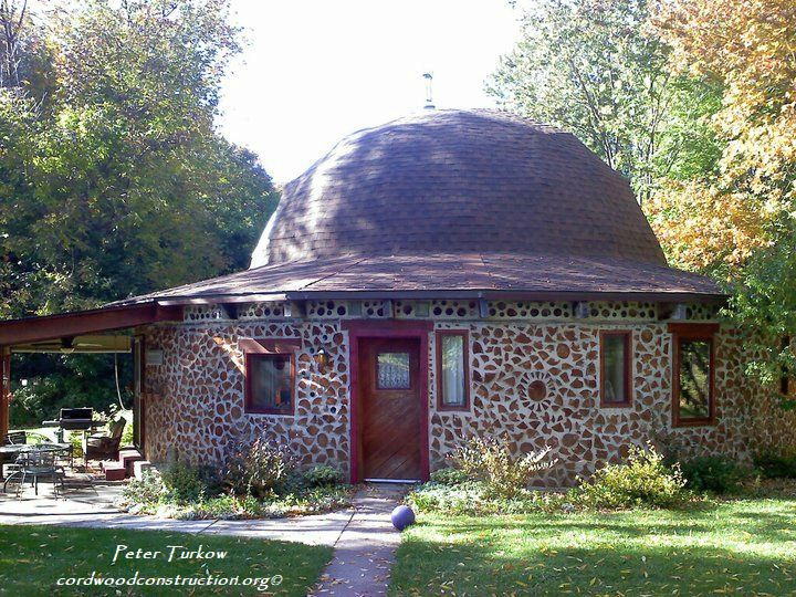 Raise the Roof on Cordwood Homes