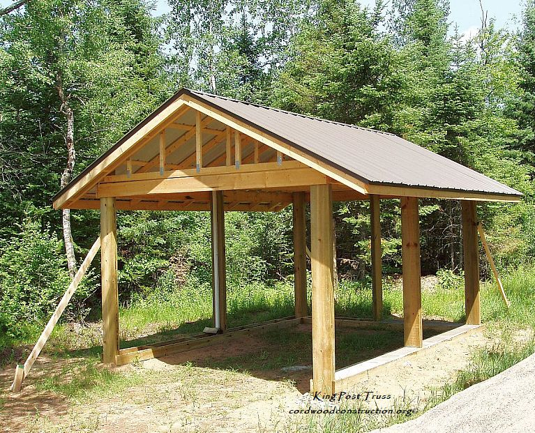 Roof king post truss.jpg