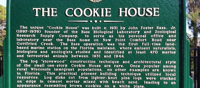 Cordwood Cookie House: Florida