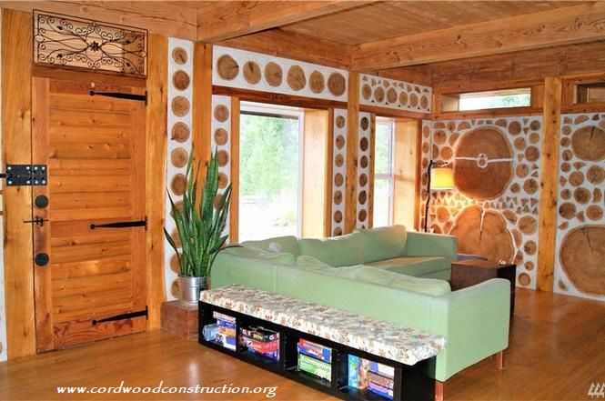 Cordwood Home for Sale