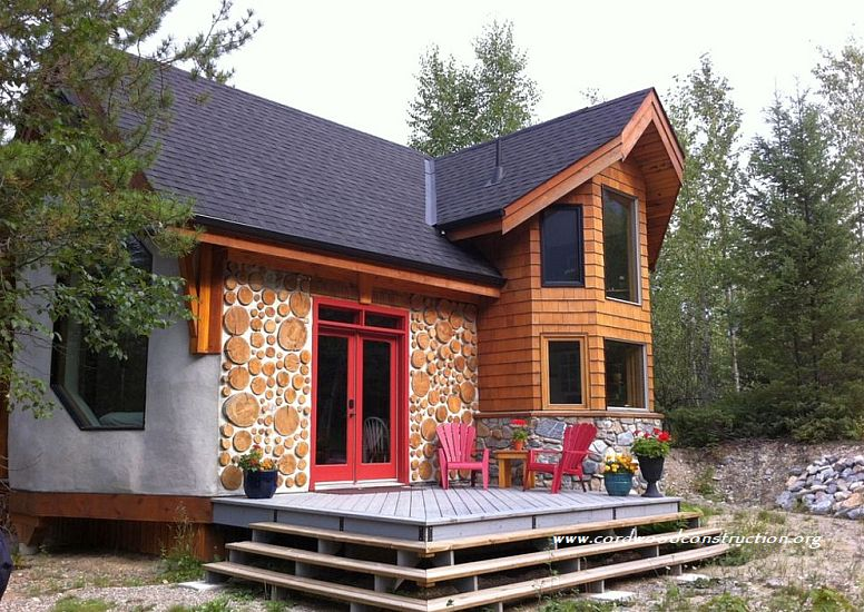 Cordwood Chalet BnB in BC