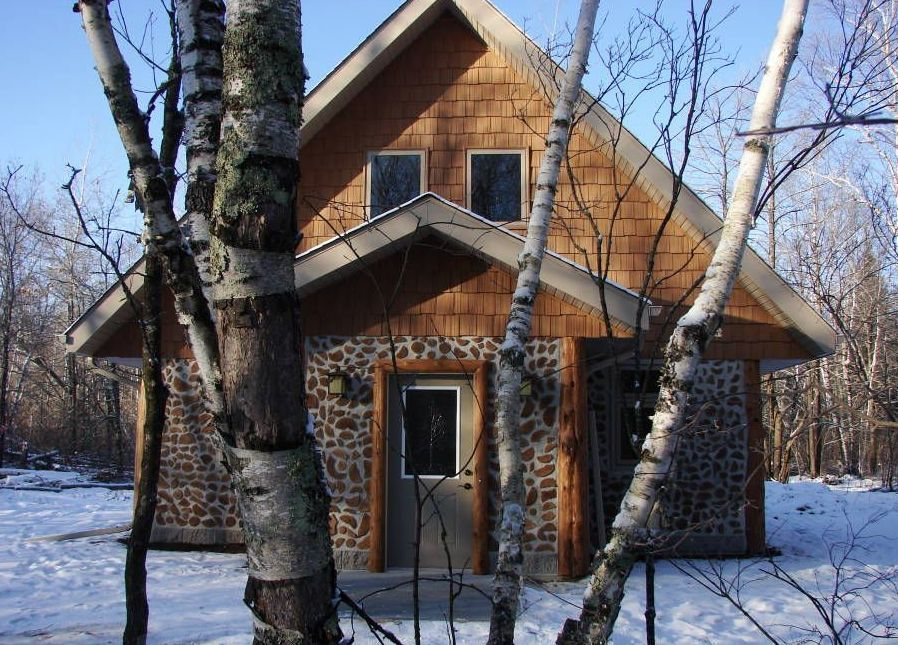 Cordwood at White Earth