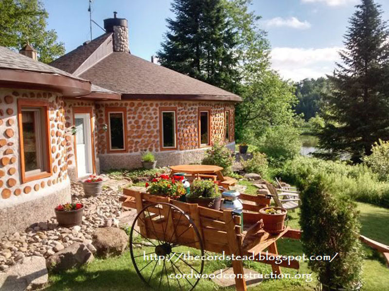 Cordwood Construction We Show You Beautiful Cordwood