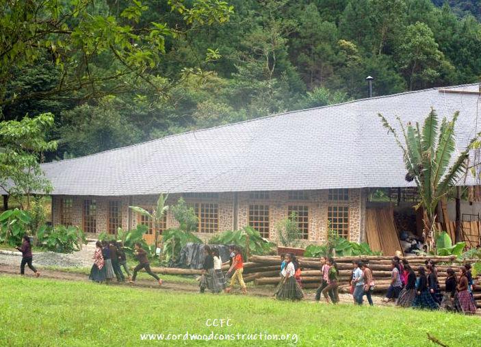 Cordwood Classroom Guatemala