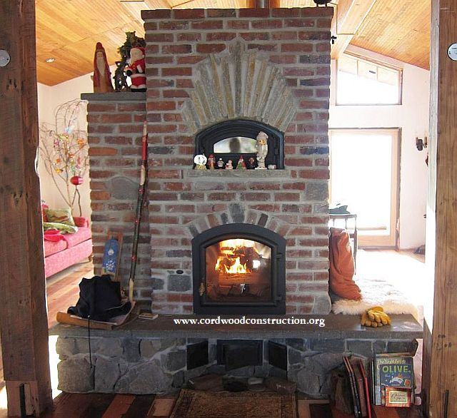Wood Stoves for Cordwood Homes