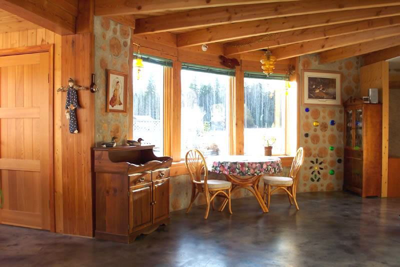 Bright & Airy Cordwood Home