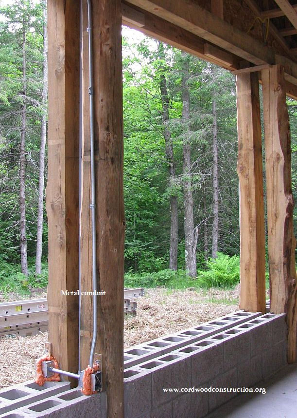 Tremendous Cordwood Top Five Electrical Tips Cordwood Construction Wiring Digital Resources Indicompassionincorg