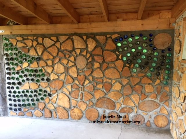 Cordwood Sauna in Big Lake, Alaska