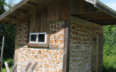 Cordwood Drying Shed shows-off Tuck Pointing Perfection
