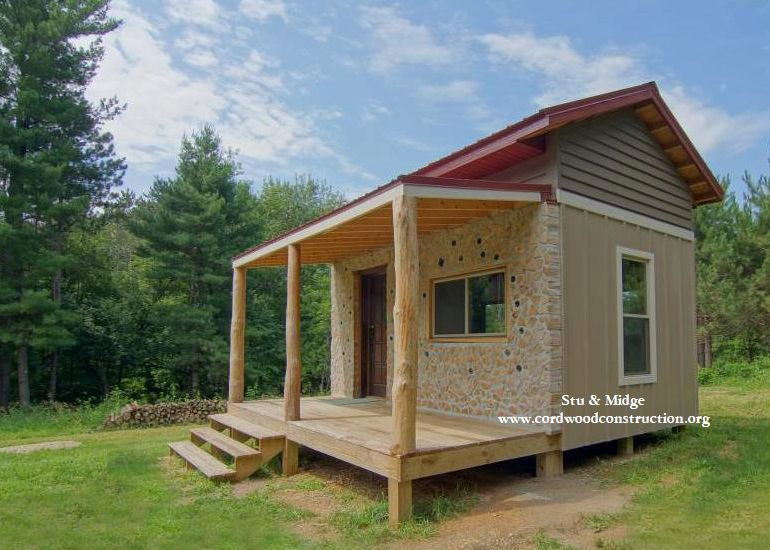 Cordwood Cabin & 35 acres for Sale in Wisconsin
