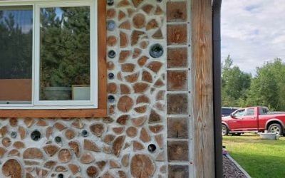 Tiny Cordwood Home Flexes its Gorgeous Muscle
