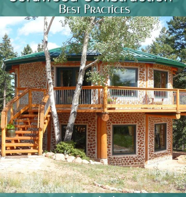 Cordwood Construction Best Practices ebook (updated 2020) on sale for $9.99 (that's 50% off)