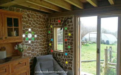 Tiny Cordwood Garden Cottage in England