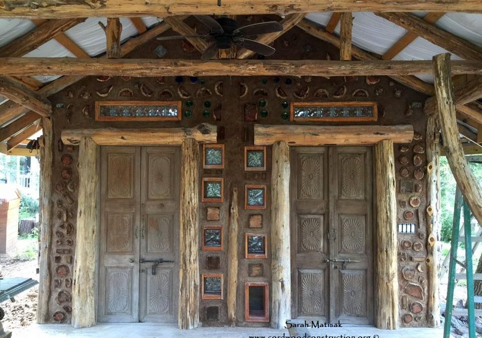 Cordwood & Light Straw Clay in Texas