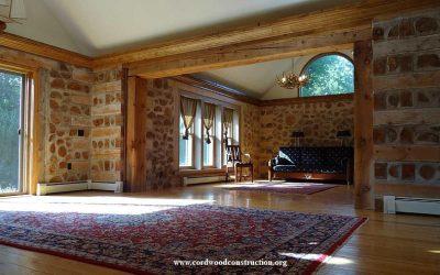 Cordwood Home on Lake Superior For Sale