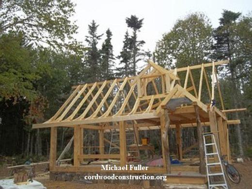Tiny Cordwood Cabin in Nova Scotia UPDATE